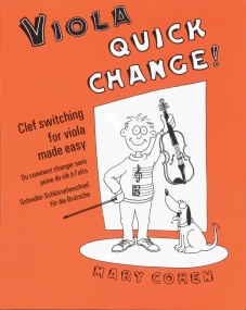 Cohen: Quick Change for Viola published by Faber