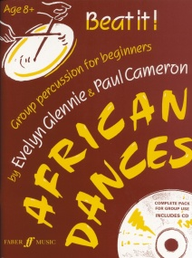 Beat It! African Dances Book And CD published by Faber