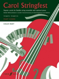 Carol Stringfest for Cello Duet published by Faber