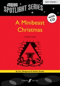 Junior Spotlight Series: Minibeast Christmas Book & CD published by Faber