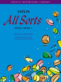 All Sorts Initial - Grade 1 for Violin published by Faber