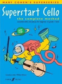 Cohen: Superstart Cello Book & CD published by Faber