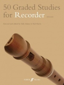50 Graded Studies for Recorder published by Faber
