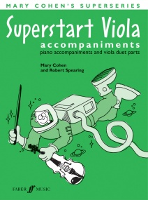 Cohen: Superstart Viola (Piano Accompaniment) published by Faber