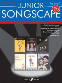 Junior Songscape : Stage and Screen Book & CD published by Faber