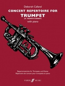 Concert Repertoire  for Trumpet published by Faber