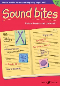 Sound Bites Book & CD by Marsh published by Faber