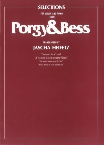 Gershwin: Porgy And Bess Selections for Violin published by Faber
