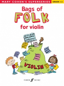 Bags of Folk for Violin (Grades 1 - 2) published by Faber