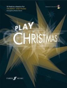 Play Christmas Book & CD for Trumpet published by Faber