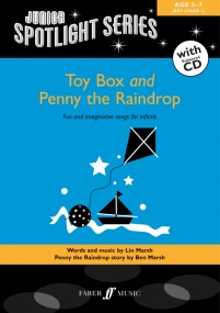 Junior Spotlight Series: Toy Box & Penny The Raindrop Book & CD published by Faber