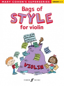 Bags of  Style for Violin (Grade 2 - 3) published by Faber