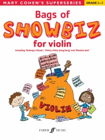 Bags of Showbiz for Violin (Grade 2 - 3) published by Faber