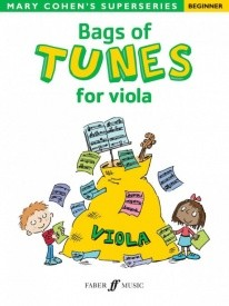 Bags of Tunes for Viola (Beginner) published by Faber