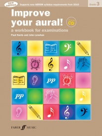 Improve Your Aural Grade 3 Book & CD by Harris published by Faber
