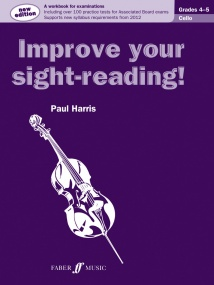 Improve Your Sight Reading Grade 4 - 5 for Cello published by Faber