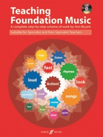 Teaching Foundation Music Book & CD by Bryant published by Faber