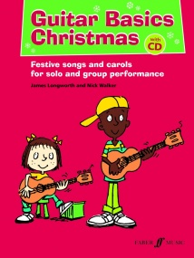 Guitar Basics Christmas Book & CD published by Faber