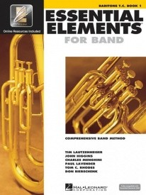 Essential Elements for Band - Book 1 with EEi for Baritone (Treble Clef) published by Hal Leonard