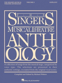 Singers Musical Theatre Anthology 3 Soprano published by Hal Leonard