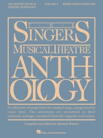 Singers Musical Theatre Anthology 3 Mezzo-soprano published by Hal Leonard