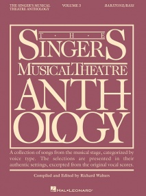Singers Musical Theatre Anthology 3 Baritone/Bass published by Hal Leonard
