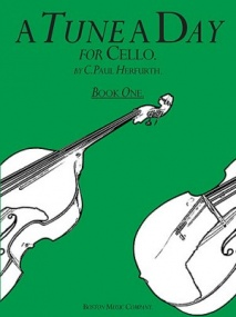 A Tune a Day 1 for Cello published by Boston