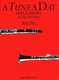 A Tune a Day Book 2 for Clarinet published by Boston Music Co