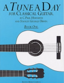 A Tune a Day Book 1 for Classical Guitar published by Boston