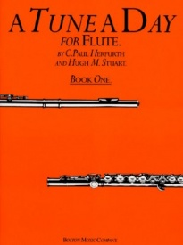 A Tune a Day Book 1 for Flute published by Boston Music Co