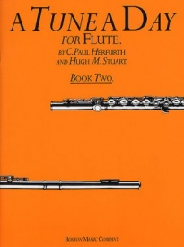 A Tune a Day Book 2 for Flute published by Boston Music Co