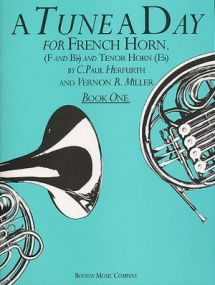 A Tune a Day Book 1 for French Horn published by Boston Music Co