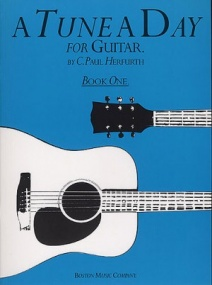 A Tune a Day Book 1 for Guitar published by Boston