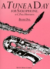 A Tune a Day Book 1 for Saxophone published by Boston Music Co
