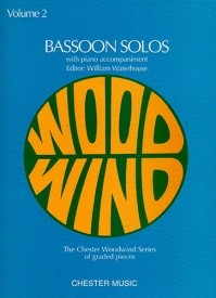 Bassoon Solos Volume 2 published by Chester