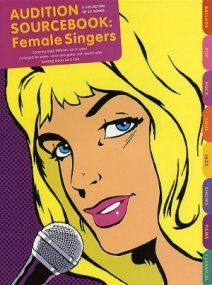 Audition Sourcebook: Female Singers Book & CD published by Wise