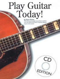 Play Guitar Today Book & CD published by Wise