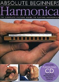 Absolute Beginners : Harmonica Book & CD published by Wise