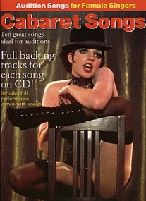 Audition Songs for Female Singers : Cabaret Songs Book & CD published by Wise