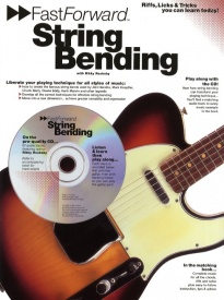 Fast Forward: String Bending Book & CD published by Wise