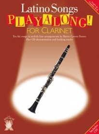 Applause: Latino Songs Playalong For Clarinet published by Chester