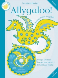 Allygaloo! Book & CD by Hedger published by Golden Apple Productions