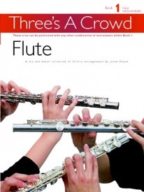 Threes a Crowd Book 1 Flute Trios published by Power