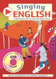 Singing English Book & CD published by A & C Black