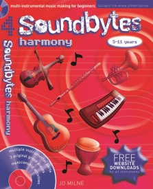 Soundbytes 4 - Harmony Book & CD published by A and C Black