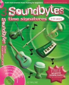 Soundbytes 3 - Time Signature Book & CD published by A and C Black