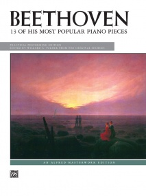 Beethoven: 13 Most Popular Pieces for Piano published by Alfred
