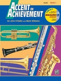 Accent On Achievement - Flute Book 1 published by Alfred