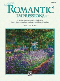 Mier: Romantic Impressions Book 1 for Piano published by Alfred