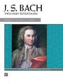 Bach 15 Two-part Inventions by Bach for Piano published by Alfred